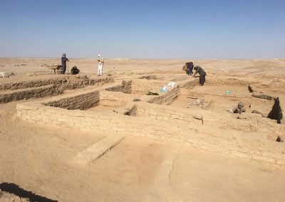 "E. Ascalone - Shahr-i Sokhta, Area 33, ""The House of the Courtyards"" (Shahr-i Sokhta, II period, Phase 5, ca. 2600-2500 BC) and ""The House of the Architect"" (Shahr-i Sokhta II period, Phase 6, ca. 2700-2600 BC). Photo by MAIPS."