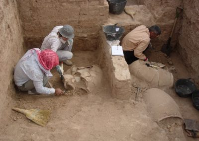 M. Lebeau - Tell Beydar - 2009 Season - Area S - Storeroom - Early Jezirah 3b (c. 2350 BCE).