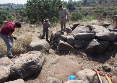 Tara Steimer-Herbet - Valorisation and protection of the Early Bronze Age megalithic monuments in Menjez (north Akkar - Lebanon), July 2018