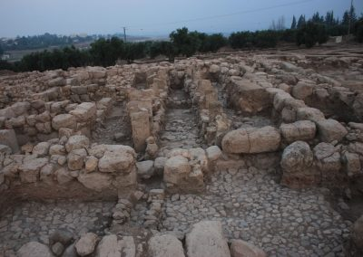 Omer Sergi - Late Iron IIA (9th century BCE) monumental pillared building in Ḥorvat Tevet, the eastern Jezreel Valley, Israel (looking west). The site is identified as a royal Israelite estate from the period of the Omride monarchy (Excavations carried by the Israeli Institute of Archaeology, on behalf of the Sonia and Marco Institute of Archaeology, Tel Aviv University, and directed by Omer Sergi and Rachel Lindman).