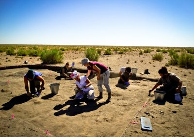 "Members of the team during the early excavation phases of Togolok 1 (Turkmenistan) Italian – Turkmen Archaoelogical Mission in Turkmenistan ""Togolok Project"". Director: Barbara Cerasetti (University of Bologna); Field supervisors: Roberto Arciero, Luca Forni. The Togolol Project was funded by: - University of Bologna - I S M E O — Associazione Internazionale di Studi sul Mediterraneo e l'Oriente - University of Naples ""L'Orientale"" - M A E C I - Ministry of Foreign Affairs and International Cooperation."