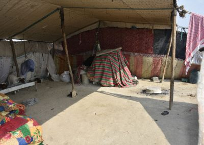 Carolyne Douche - Uweili (Southern Iraq), November 2019 - Interior of a bedouin tent.