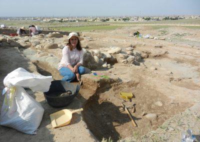 Carolyne Douche - Lashkir (Northern Iraq), April 2018 - Archaeobotanical Sampling.