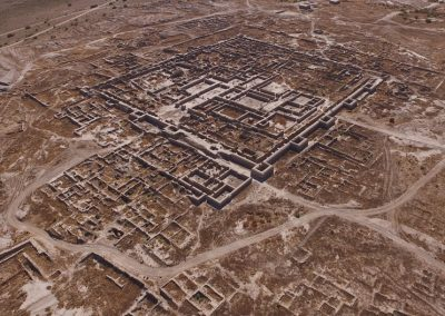 Nadezhda A.Dubova Gonur Depe made by dron in October 2019. Photographer Suleyman Charyev - Margiana archaeological expedition.