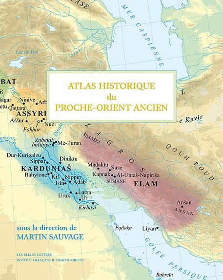 Couverture Atlas Historique du Proche-Orient Ancien